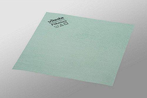 Vileda paño de microfibra pvam icro 38x 35cm verde VE = 5unidades