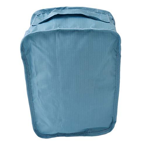 #N/A ZNMUCgs Bolsa de zapatos grande con cierre de cremallera, práctica asa de equipaje bolsa organizadora para entrenadores tacones, nailon, azul celeste, as show