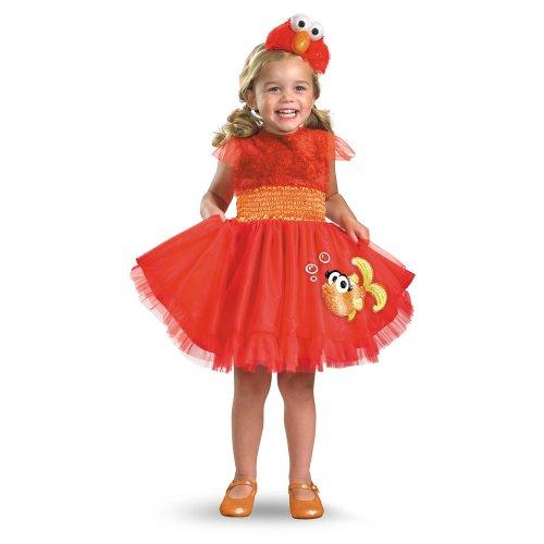 Sesame Street Frilly Elmo Costume - Small (2T)
