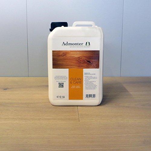 Admonter Parkettpflegemittel Clean & Care weiß 2,5 L