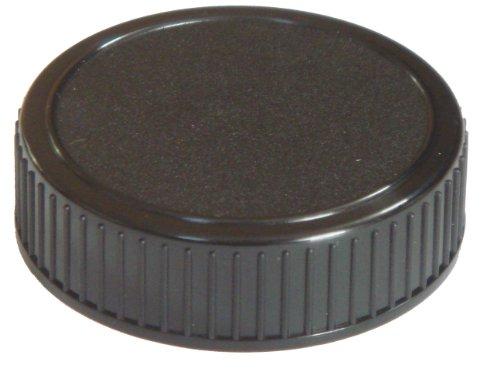 Objektiv-Rückdeckel schwarz passend für Nikon D40(x), D50, D60(x), D70(s), D80, D90, D100, D200, D300, D300s, D600, D800(E) D3000, D3100, D5100, D7000