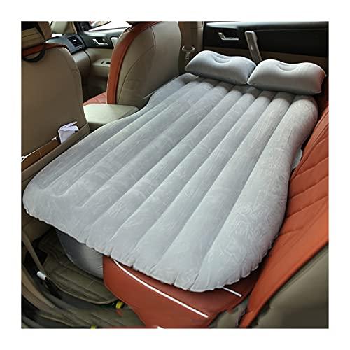 Colchón inflable del coche, colchón inflable del viaje del coche, cubierta de asiento de cama de viaje de aire, colchón de asiento trasero universal al aire libre suave camping de ropa de cama Auto Ac