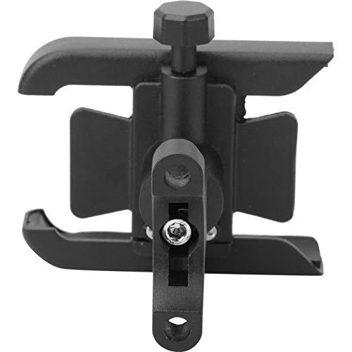 CUYT Soporte para teléfono, Soporte para teléfono de Ciclismo Universal Duradero de Ajuste Flexible, Manillar de Motocicleta para Bicicletas, teléfonos móviles de 4-7 Pulgadas(Black)