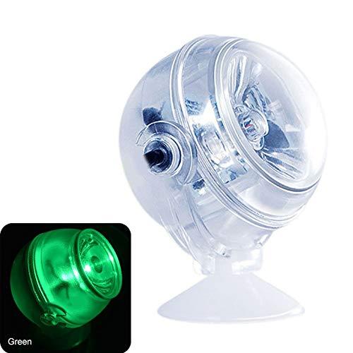 DDbrand Luz LED para Acuario, Resistente al Agua, Foco bajo el Agua, luz Azul Marino, luz Nocturna, luz de Buceo, lámpara de Acuario, Accesorios Decorativos