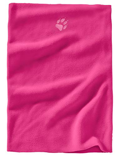 Jack Wolfskin Real Stuff Loop Echarpe Mixte Enfant, Pink Fuchsia, FR Unique (Taille Fabricant : One Size)