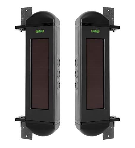Dakota Alert BBT-4000 Break Beam Alert Wireless Transmitter - Solar Powered Infrared Driveway Alarm System, Up to 1 Mile Operating Range
