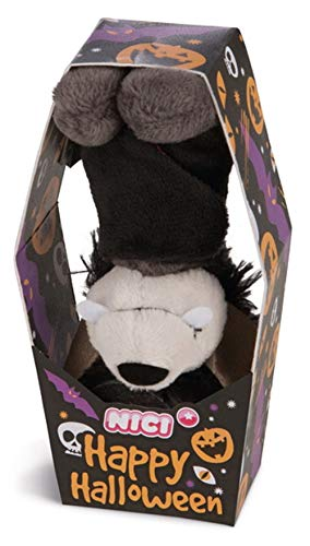 Nici - 43670 - Happy Halloween, Fledermaus, mit Loop, Plüsch, 9cm