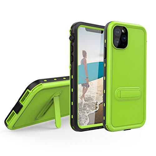 Waterproof Case for Apple iPhone 11 Pro, Redpepper Shockproof Snowproof DirtProof Full Sealed Underwater Protective Cover, IP69K Certified Green