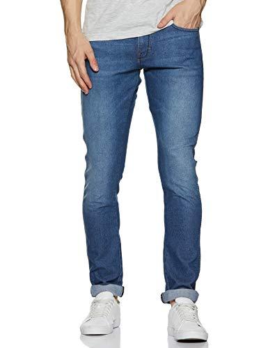 Wrangler Men's Skinny Fit Jeans (W38516W22SMU_Jsw-Indigo_34W x 33L)