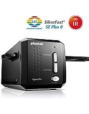 Plustek OpticFilm 8200I SE - Escáner (36,8 x 25,4 mm, 7200 x 7200 dpi, IrDA, USB 2.0, Film/Slide, Negro, CCD)
