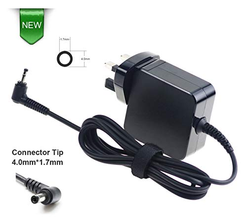 45W 20V 2.25A Laptop Charger Power Adapter for Lenovo IdeaPad 100 110 110-Touch 300 310 310s 320 320s 500 510 510s 520s Yoga 310 510 520 710 Flex 4 5 Chromebook-N22 N23 N42 UK Wall Power Supply