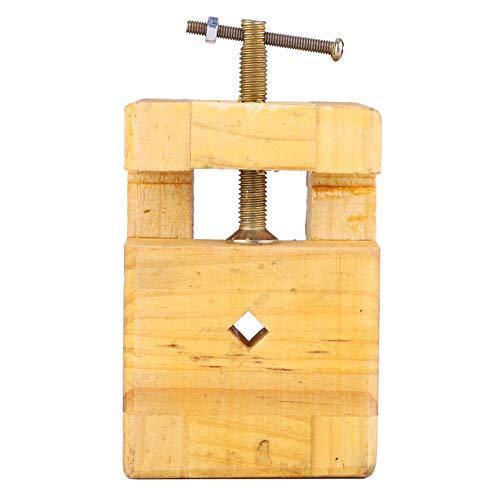 Alicates planos Tornillo estable 1Pcs Madera y acero para madera con fondo antideslizante(Small engraved seal bed)
