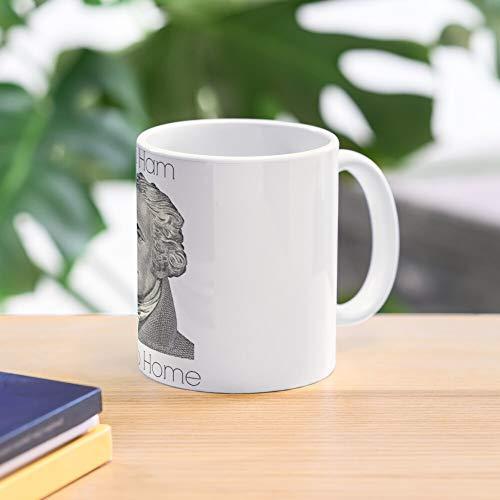 5TheWay Ham Go Mug Or Home - - Taza de café de Regalo de Moda Superventas Negra, Blanca, Cambia de Color 11 onzas, 15 onzas para Todos…