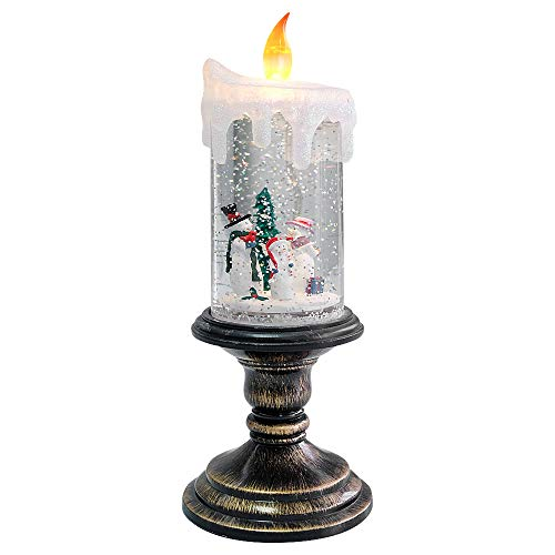 Eldnacele Battery Operated Lighted Flameless Candles...
