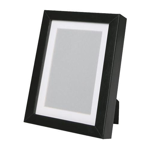 ★RIBBA フレーム (15×20cm) / ブラック[イケア]IKEA(30171298)