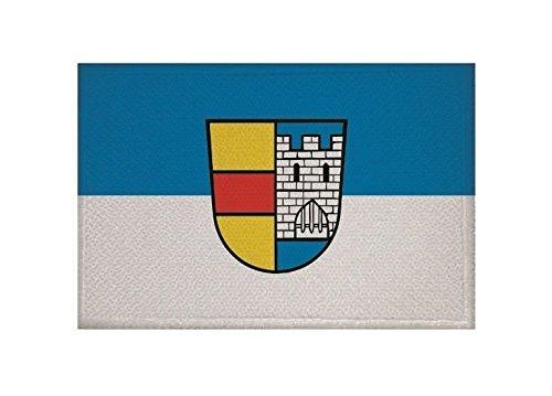 U24 Aufnäher LAHR (Schwarzwald) Fahne Flagge Aufbügler Patch 9 x 6 cm