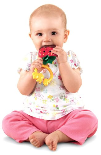 Fisher-Price Strawberry Teether