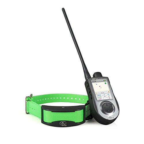 SportDOG Brand TEK Series 1.5 GPS Tracking + E-Collar System - 7 Mile Range - Waterproof and Rechargeable - Tone, Vibration, and 99 Levels of Shock - Expandable to Locate and Train up to 12 Dogs