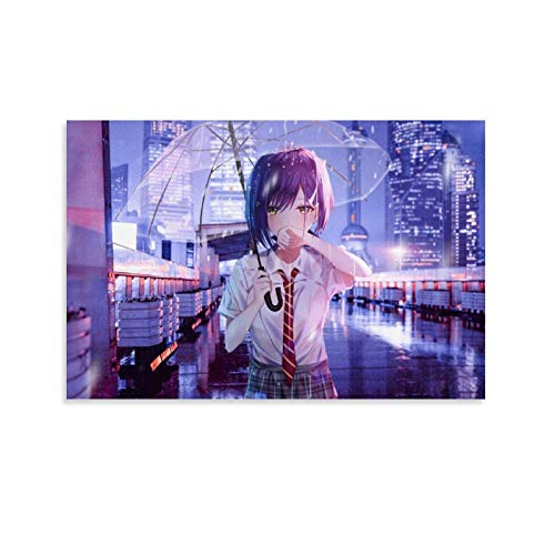 DHNBHJUGY Ichigo Darling in The Franxx Poster décoratif sur toile pour salon, chambre à coucher 20 x 30 cm