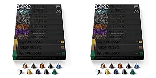Nestle Nespresso Capsules OriginalLine Ispirazione Espresso Variety Pack Espresso Coffee Espresso Coffee Pods Brews 1.35 oz, Medium roast, 100 Count