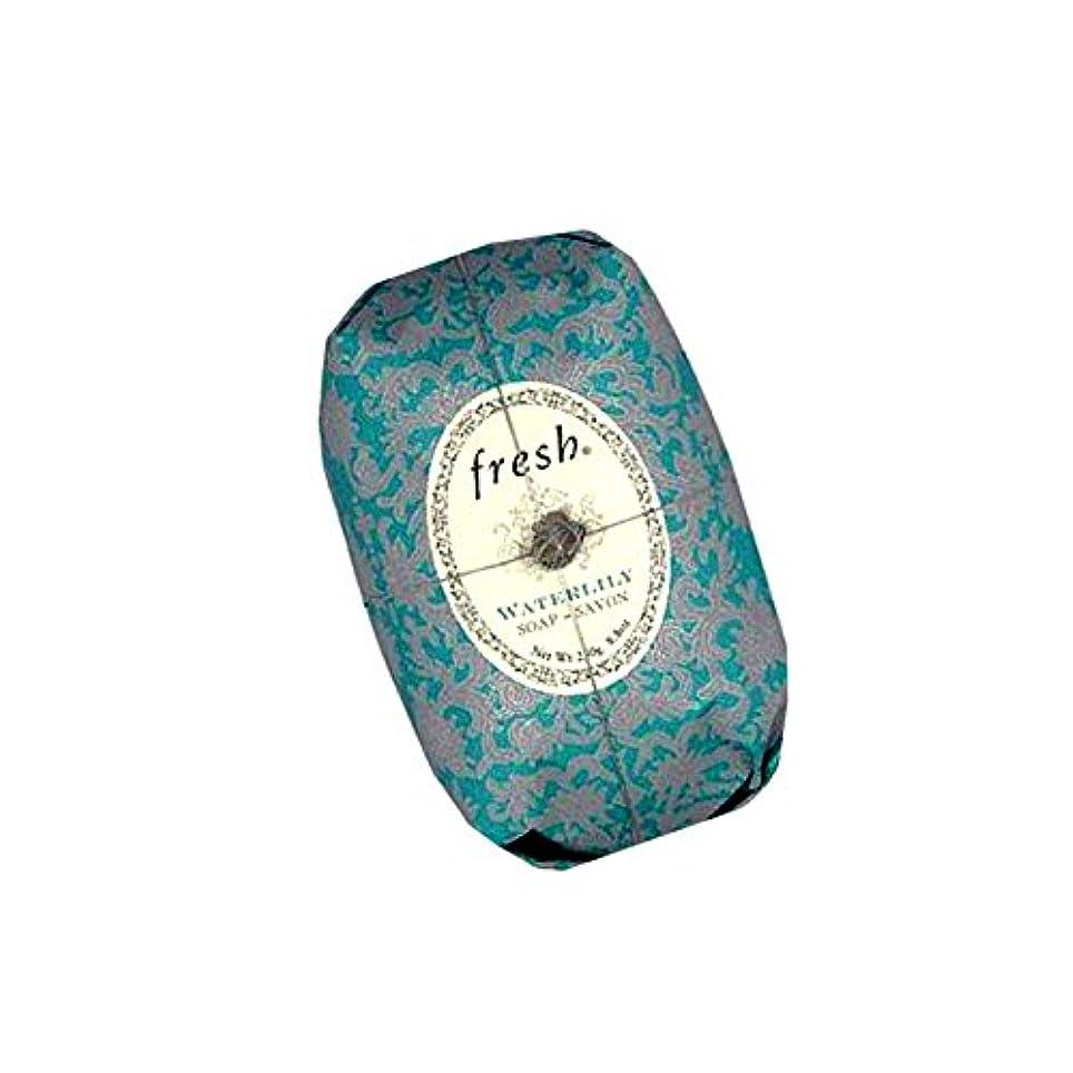 もう一度歩行者ナビゲーションFresh フレッシュ Waterlily Soap 石鹸, 250g/8.8oz. [海外直送品] [並行輸入品]