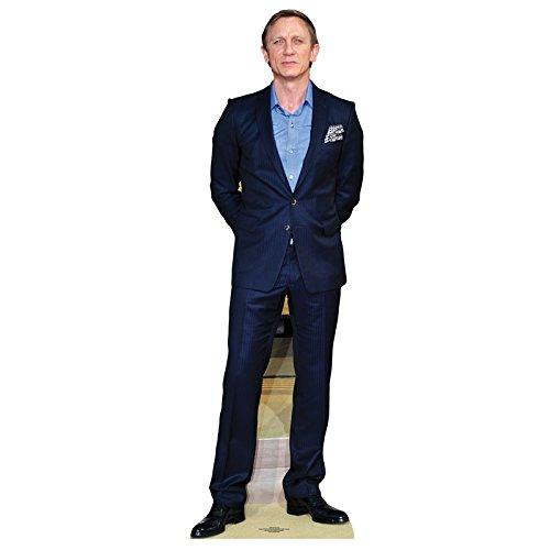 Daniel Craig (James Bond) Aufsteller Standup Cardboard Cutout (182 cm)