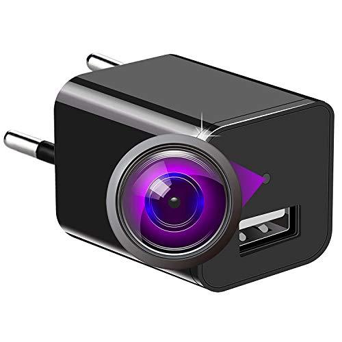 1080P Mini Überwachungskamera Versteckte Kamera Nanny Kleine Kamera & USB-Aufladeeinheit, Bewegung entdecken Überwachungskamera F