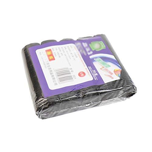 Mdsfe wegwerpafvalemmer liner plastic afvalzak papierrol hoes huisvuil vuilnisbak zak - zwart