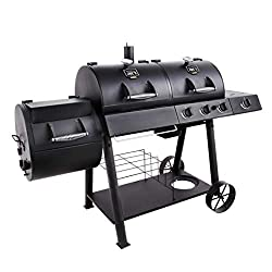 Hybrid Gas Charcoal Grills