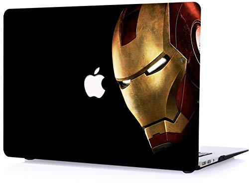 Cool awesome ironman Laptop Case for MacBook 12' Cover smoothmatte surface Plastic Hard cases A1534 shell set item RQTX ironman face