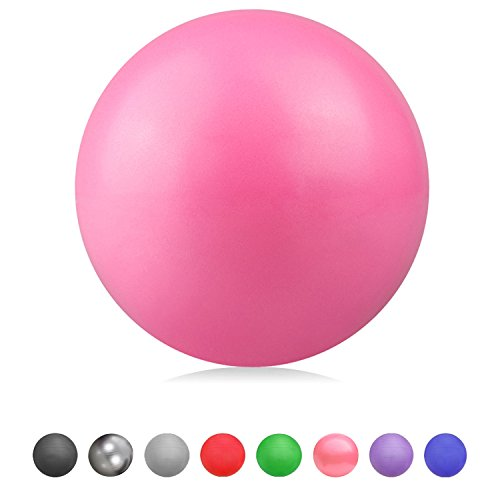 Glamexx24 Weich Gymnastikball Dick Anti-Burst Peziball Swissball Fitnessball Mini Pilates Ball Yogaball