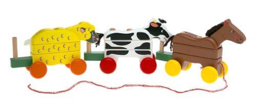 Melissa & Doug Pull-Along Farm Animals