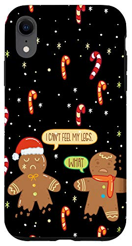 iPhone XR Funny Christmas Saying - Cute Christmas Cookie Gingerbread Case