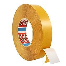 Tesa 4970 | Doppelseitiges Klebeband aus PVC | Montageklebeband | Breite wählbar | 50 m auf Rolle | Stark permanent klebend | Universalklebeband zum Montieren, Befestigen, Fixieren / 9 mm