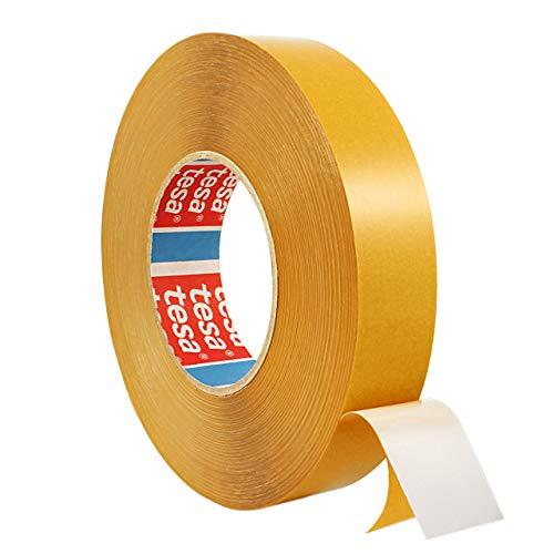 Tesa 4970 | Doppelseitiges Klebeband aus PVC | Montageklebeband | Breite wählbar | 50 m auf Rolle | Stark permanent klebend | Universalklebeband zum Montieren, Befestigen, Fixieren / 15 mm