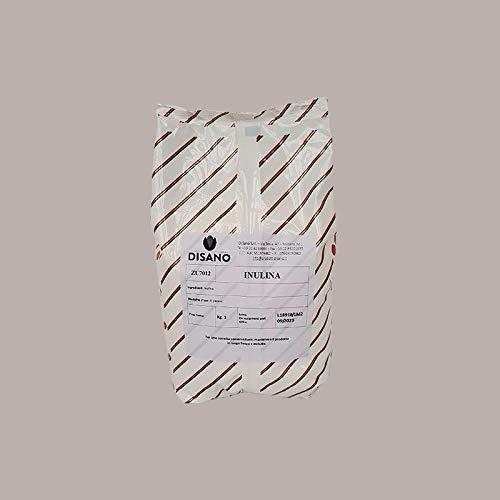 LUCGEL Srl 1 Kg Sacchetto Fibra Inulina Polvere Alimentare Dolci Gelato Inulin Food Fiber Bag