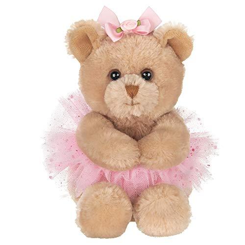 Bearington Bella Plush Ballerina Stuffed Animal Teddy Bear, 6 Inch