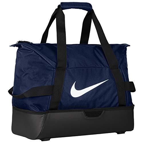 Nike Borsone Grande Da Calcio Academy Team Hardcase, blu_bianco, 15x24x45 centimeters (w x h x l)