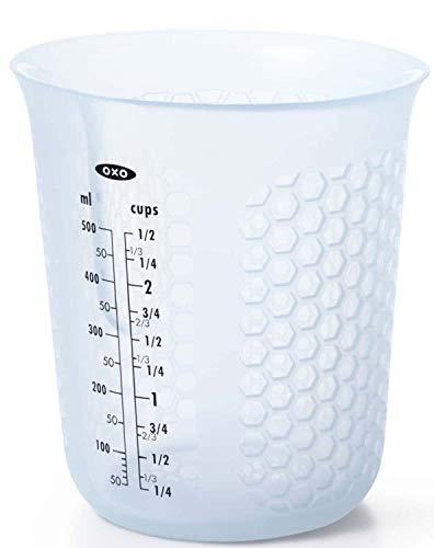 OXO計量カップ電子レンジ対応シリコンメジャーカップ中500ml