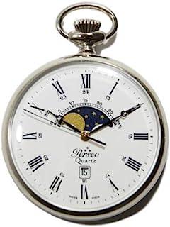 Orologio da taschino Perseo a fasi lunari Swiss Made