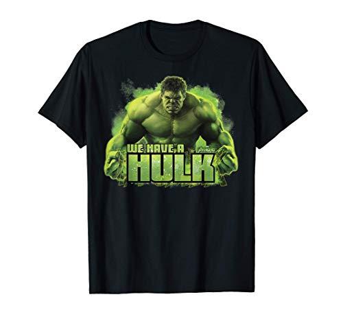 Marvel Infinity War We Have A Hulk Camiseta