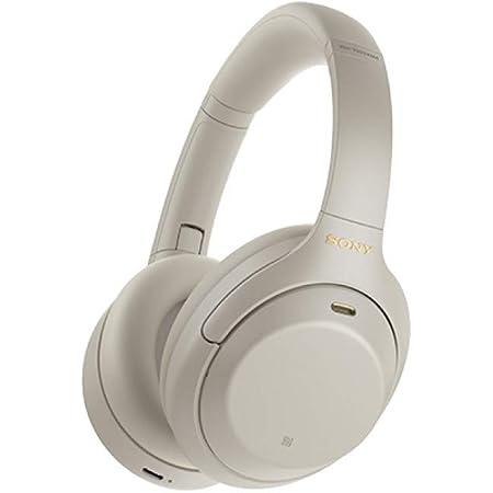 ソニー ワイヤレスノイズキャンセリングヘッドホン WH-1000XM4 : LDAC/Amazon Alexa搭載/Bluetooth/ハイレゾ 最大30時間連続再生 密閉型 マイク付 2020年モデル シルバー WH-1000XM4 S