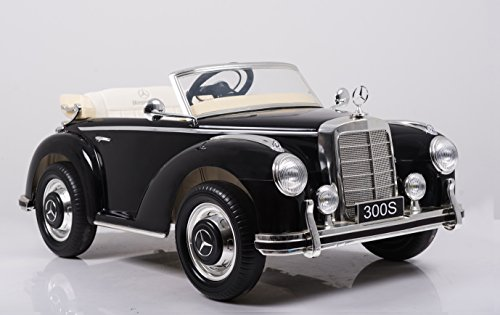 Oldtimer E-Auto für Kinder Mercedes Benz 300s Bild 4*