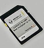 Dernière carte SD pour Renault R-Link Tom Tom 2020 Carte SD mise à jour de la carte Sat Nav Compatible avec toutes les versions européennes 10.45 MEGANE, CLIO, LAGUNA, SCENIC, KANGOO, FLUENCE