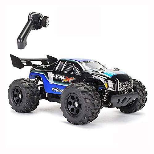 LJW RTR, Off-Road Control Remoto Toy Toy 2.4G Terrain Rock Climbing RC Vehículo Recargable Drift RC Buggy Juguetes competitivos para amateurs Regalos para niños y adultos (Color: C)   Código de produc