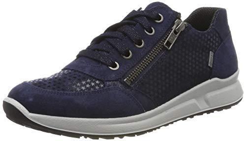 Superfit Mädchen Merida Gore-Tex Sneaker, Blau (Blau 80), 29 EU