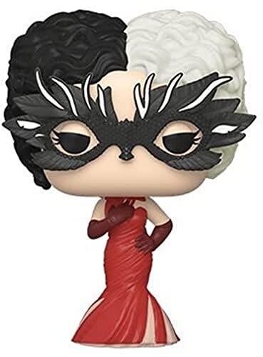 Funko 54467 POP Disney: Cruella- Cruella in Red Gown