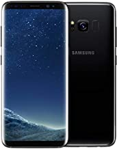 Samsung Galaxy S8 G950U 64GB GSM Unlocked Android Smartphone, Midnight Black (Renewed)