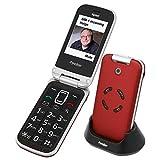 Tiptel Ergophone 6122 GSM red