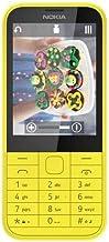نوكيا 225 بشريحتين للإتصال - لوحة مفاتيح، 2.8 إنش إل سي دي، كاميرا 2 ميجابيكسل، اصفر